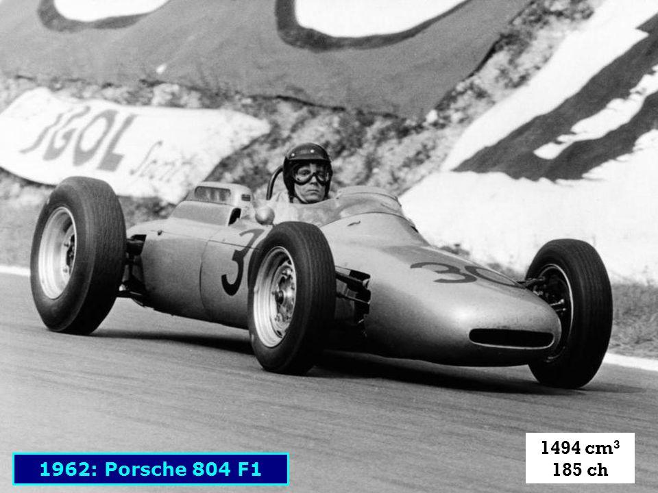 1494 cm3 185 ch 1962: Porsche 804 F1