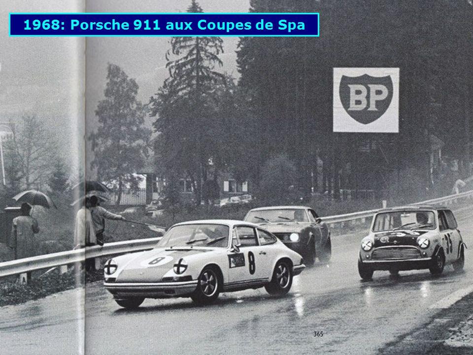 1968: Porsche 911 aux Coupes de Spa