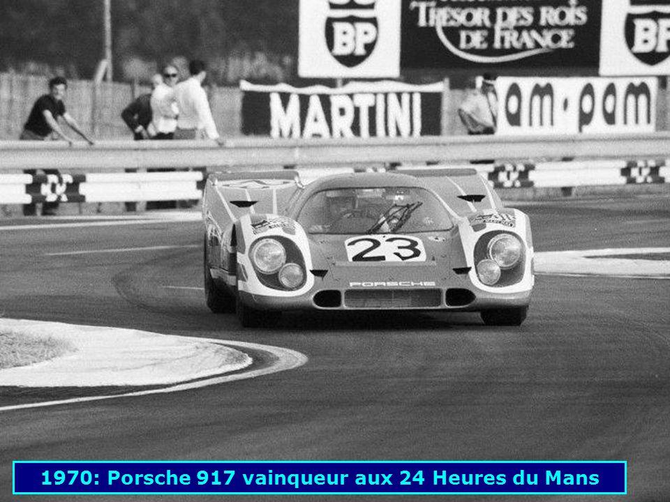 1970: Porsche 917 vainqueur aux 24 Heures du Mans