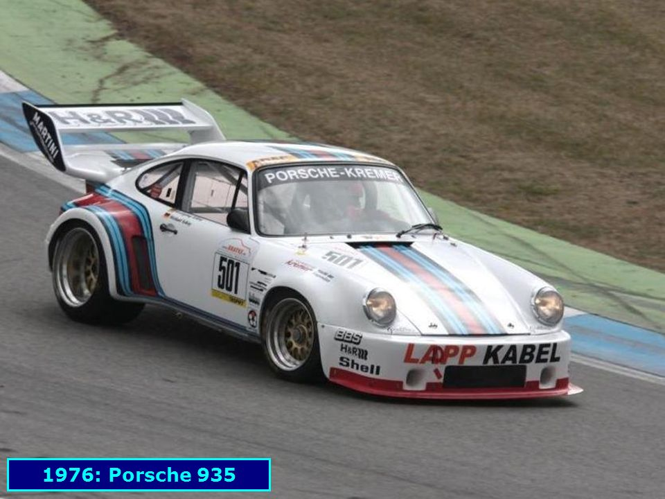 1976: Porsche 935