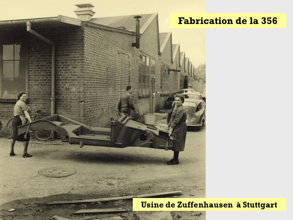 Usine de Zuffenhausen à Stuttgart