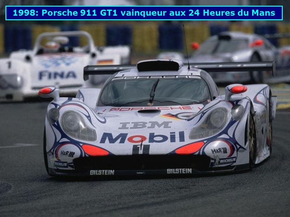 1998: Porsche 911 GT1 vainqueur aux 24 Heures du Mans