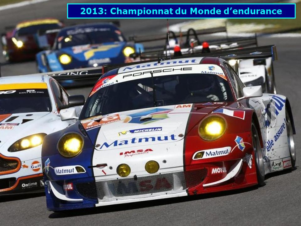 2013: Championnat du Monde d'endurance