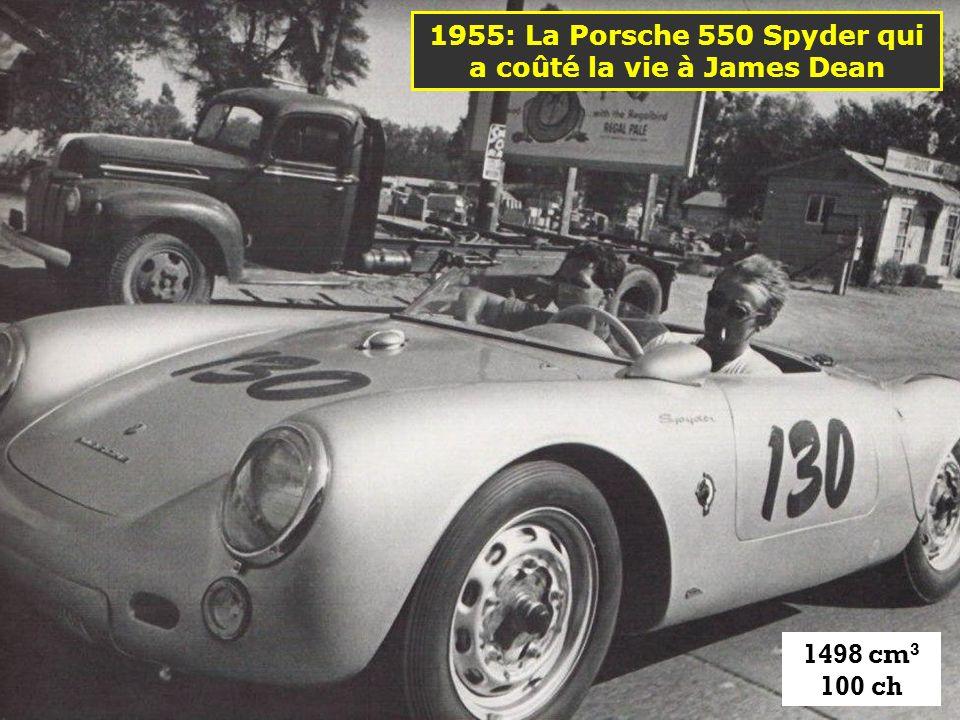 1955: La Porsche 550 Spyder qui a coûté la vie à James Dean
