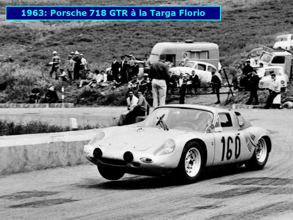 1963: Porsche 718 GTR à la Targa Florio
