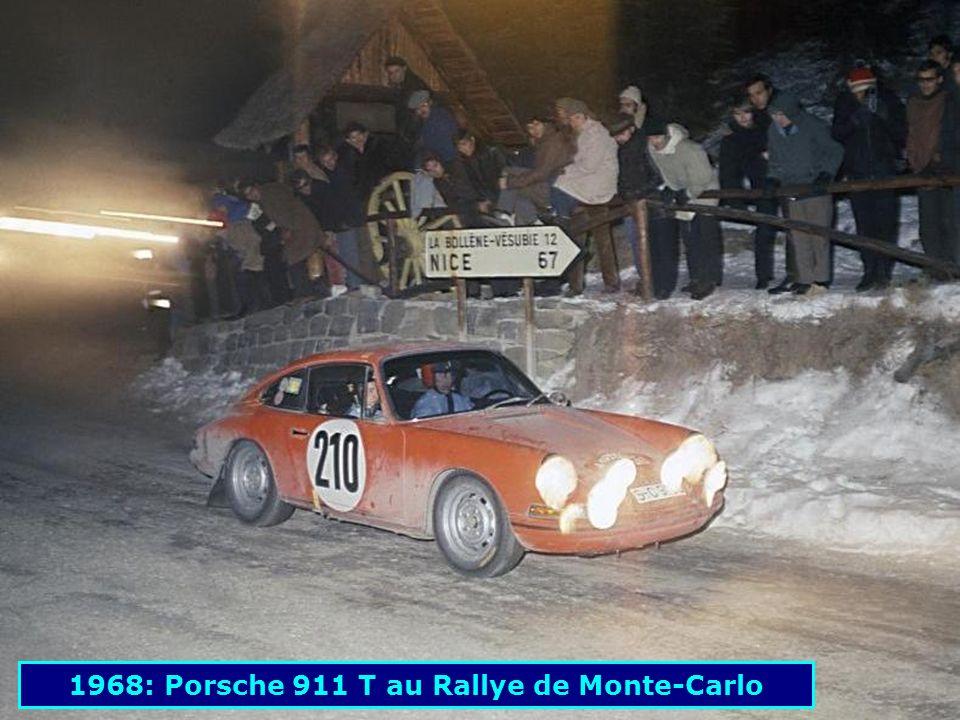 1968: Porsche 911 T au Rallye de Monte-Carlo