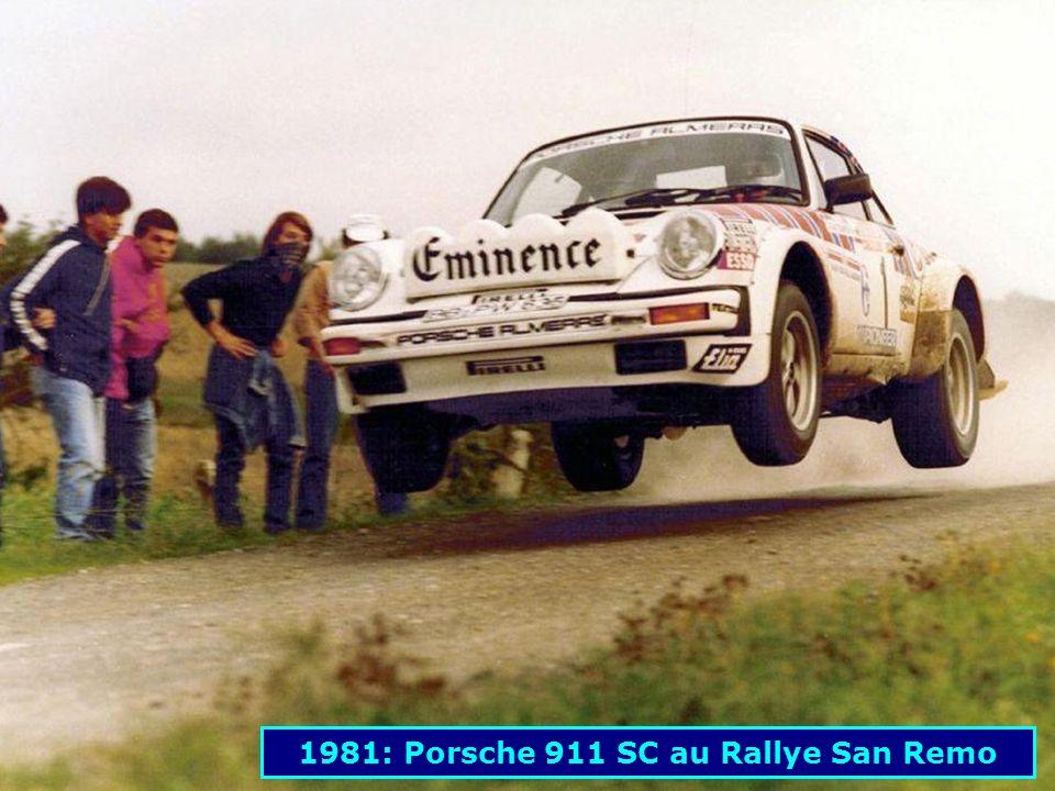 1981: Porsche 911 SC au Rallye San Remo