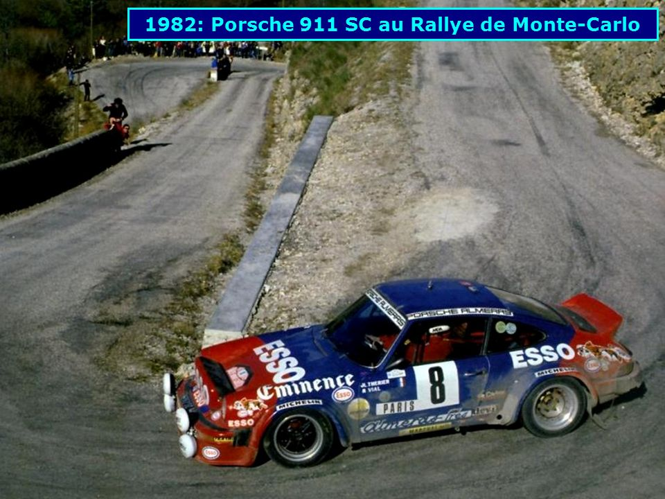 1982: Porsche 911 SC au Rallye de Monte-Carlo
