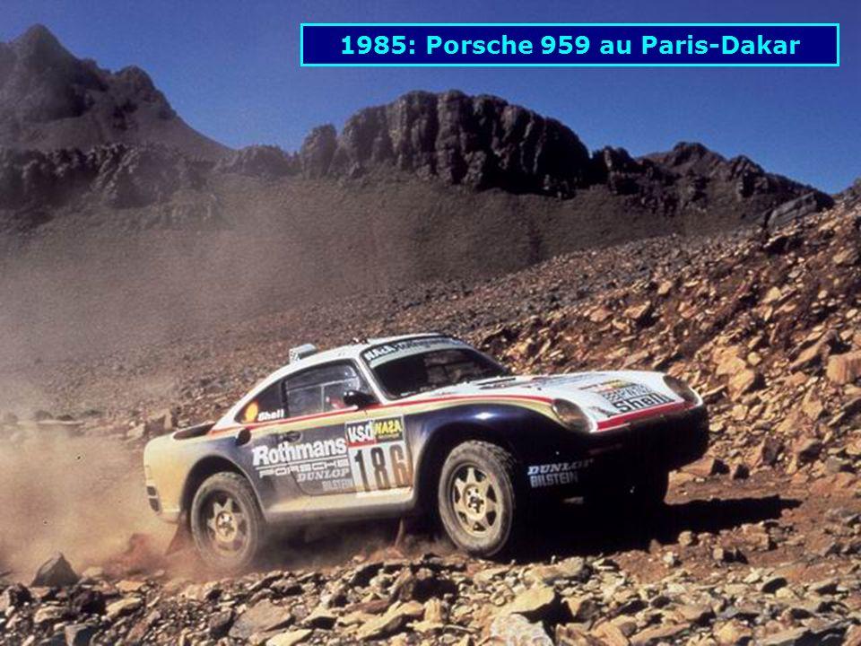 1985: Porsche 959 au Paris-Dakar
