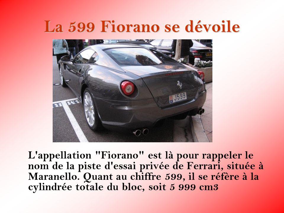 La 599 Fiorano se dévoile