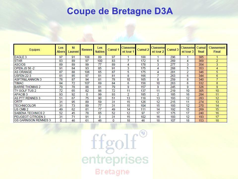 Coupe de Bretagne D3A