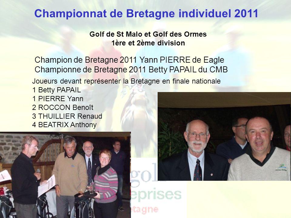 Championnat de Bretagne individuel 2011