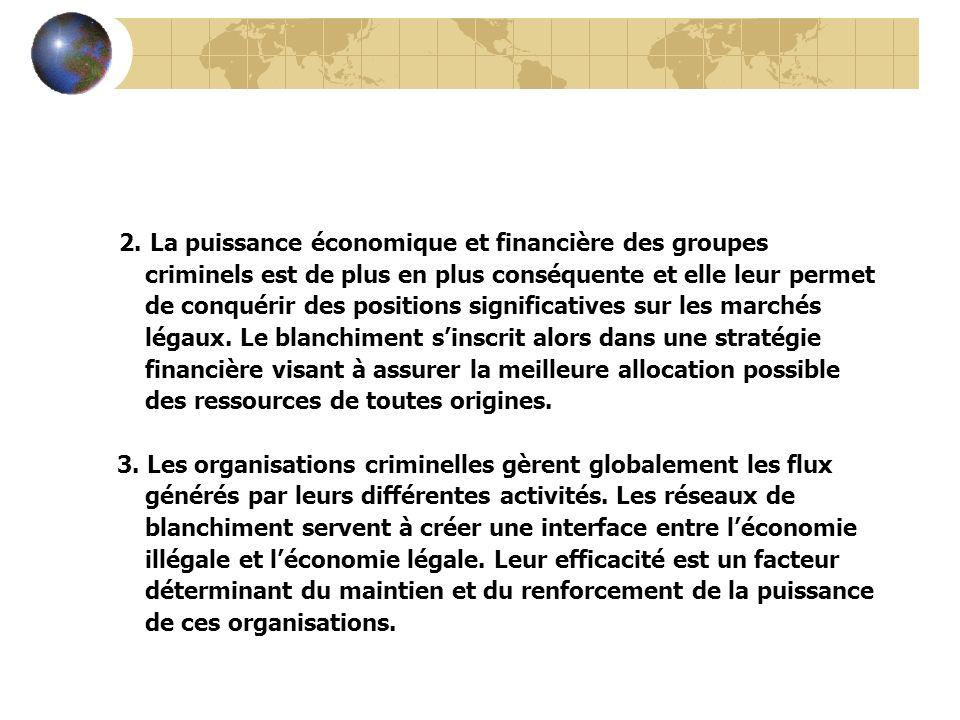 2. La puissance économique et financière des groupes