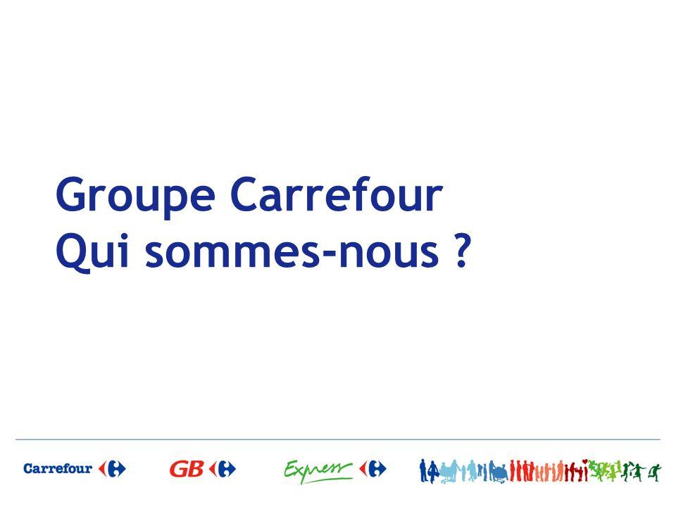 Groupe Carrefour Qui sommes-nous