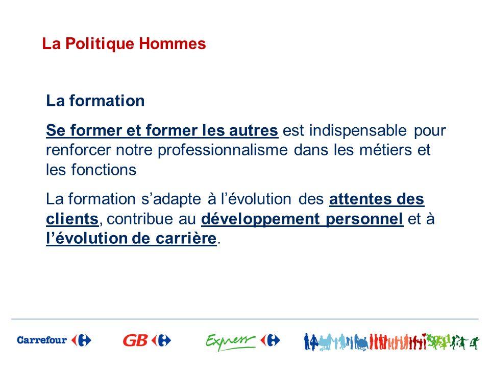 La Politique Hommes La formation.