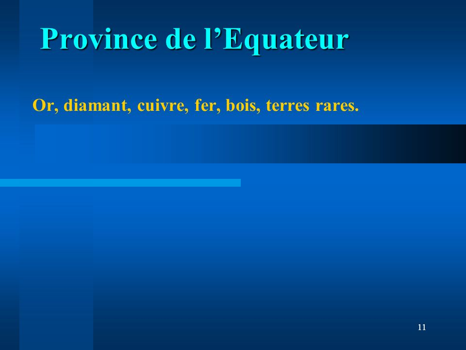 Province de l'Equateur
