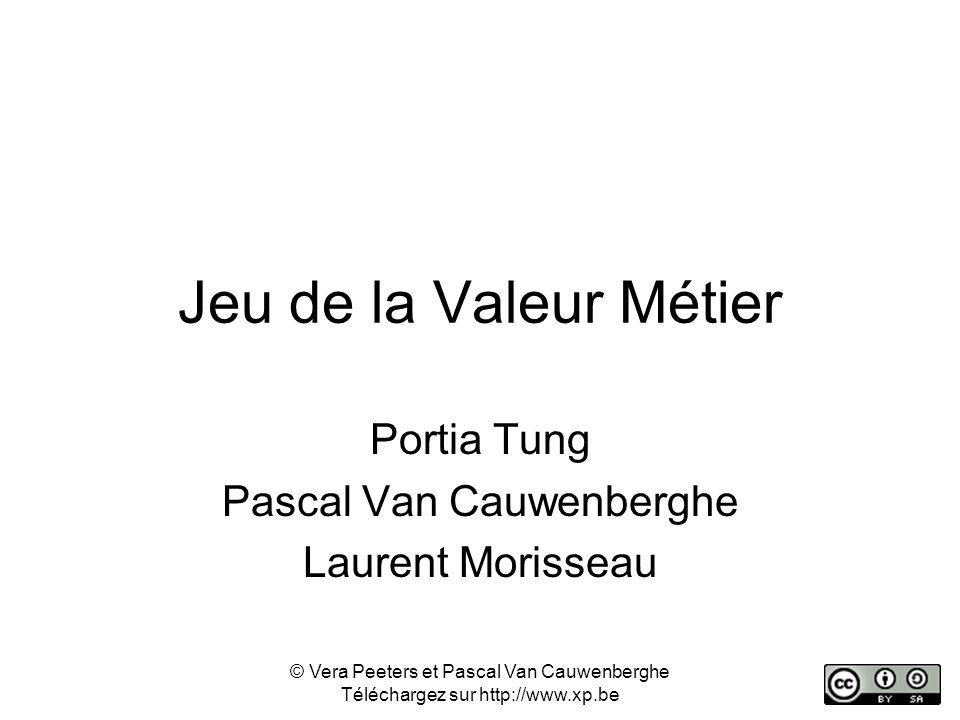 Portia Tung Pascal Van Cauwenberghe Laurent Morisseau
