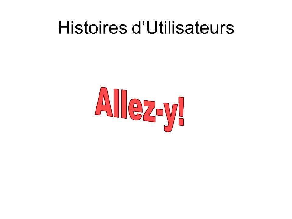 Histoires d'Utilisateurs
