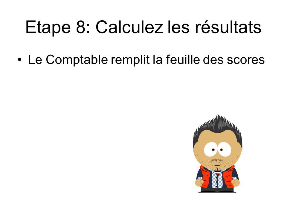 Etape 8: Calculez les résultats
