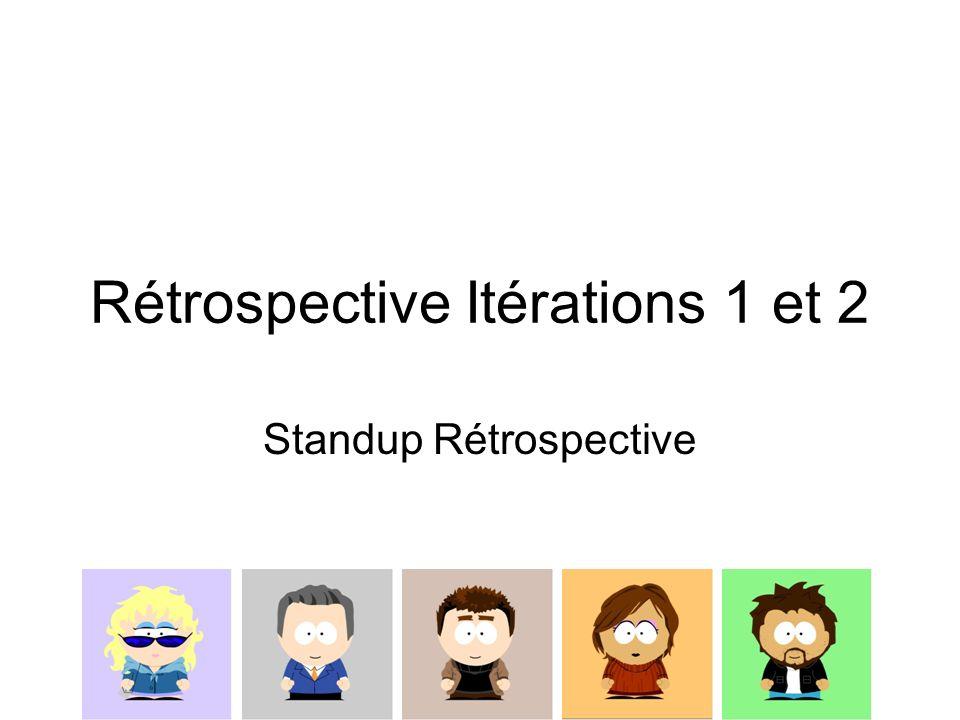 Rétrospective Itérations 1 et 2