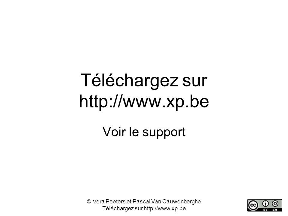 Téléchargez sur http://www.xp.be