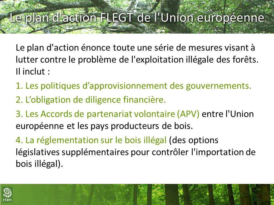 Le plan d action FLEGT de l Union européenne