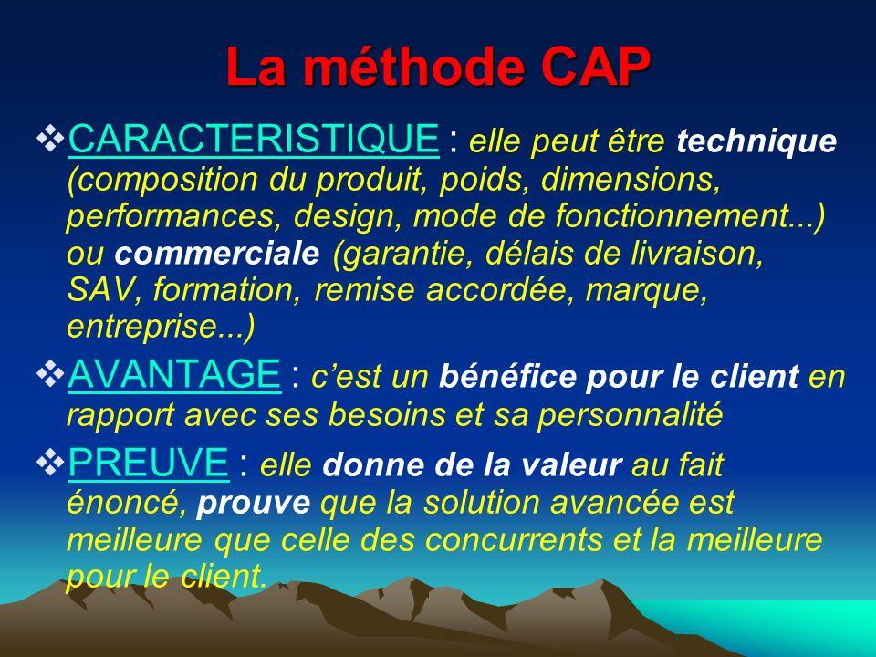 La méthode CAP
