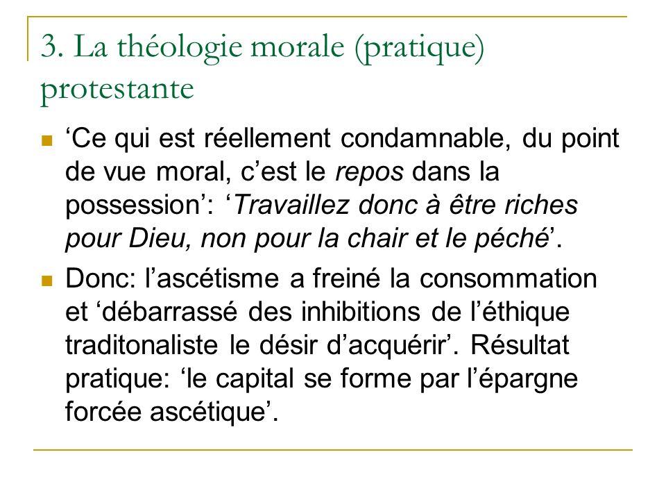 3. La théologie morale (pratique) protestante