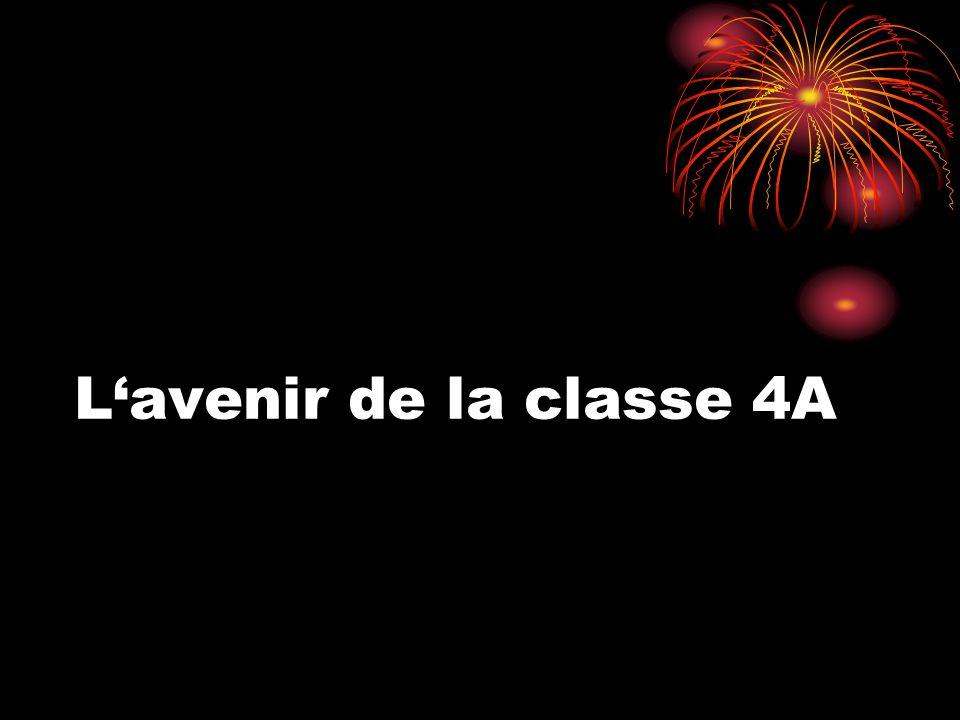 L'avenir de la classe 4A