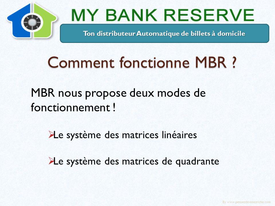 Comment fonctionne MBR