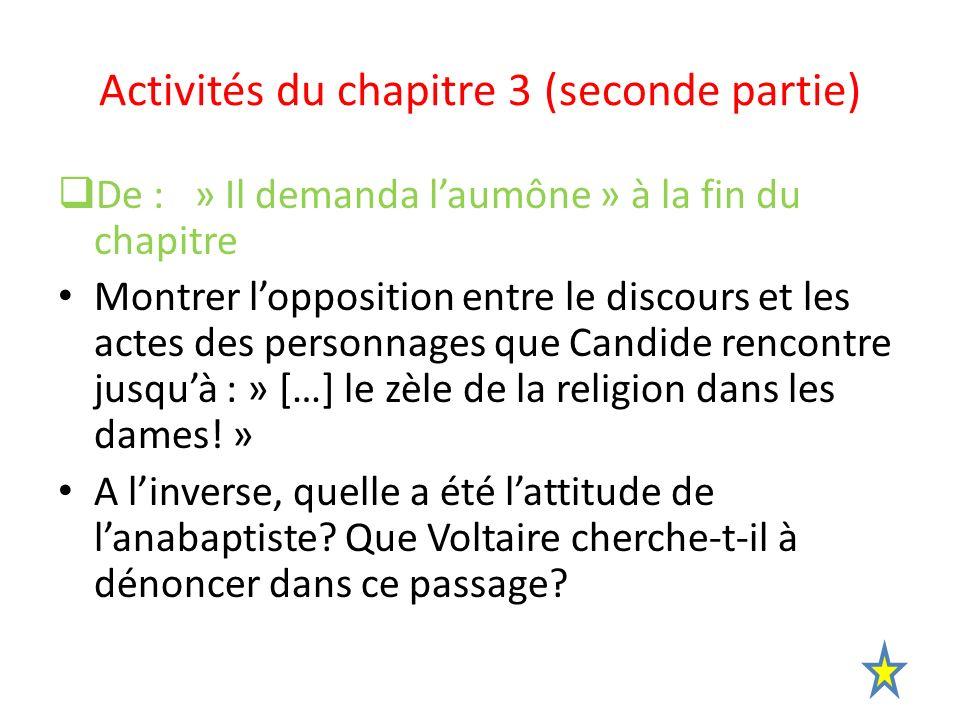 Activités du chapitre 3 (seconde partie)