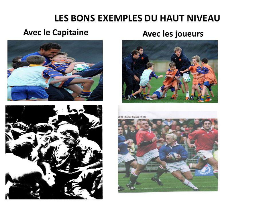 LES BONS EXEMPLES DU HAUT NIVEAU