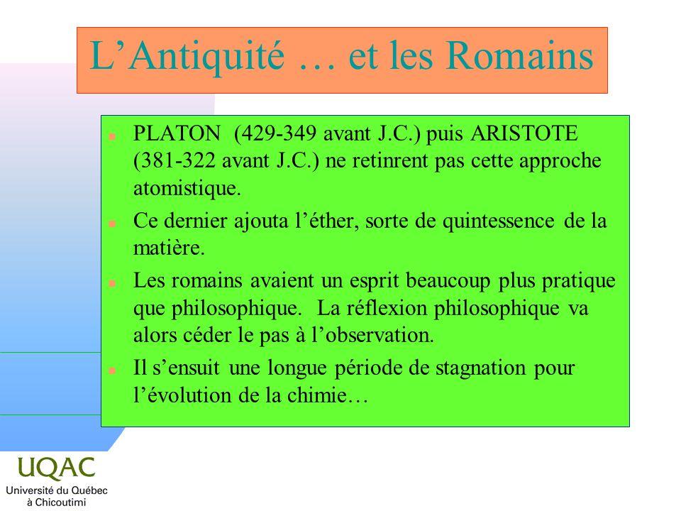 L'Antiquité … et les Romains