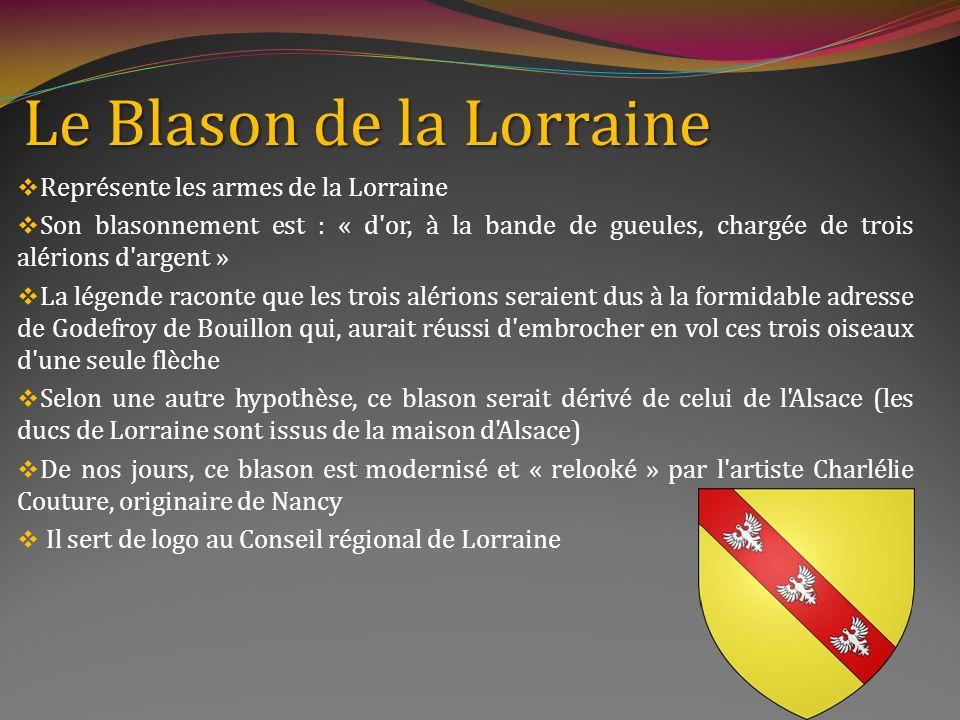 Le Blason de la Lorraine