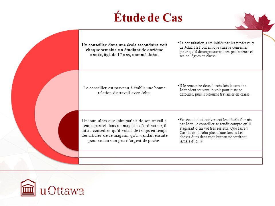 Étude de Cas EDU 5670 - semaine 3: La prise de décision éthique