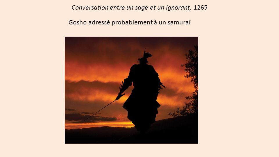 Conversation entre un sage et un ignorant, 1265