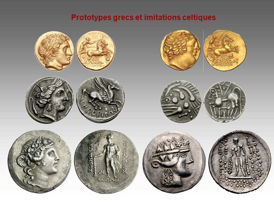 Prototypes grecs et imitations celtiques