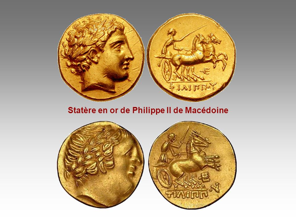 Statère en or de Philippe II de Macédoine