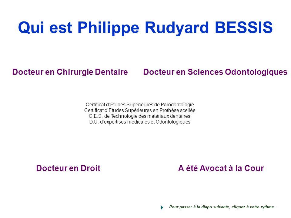 Qui est Philippe Rudyard BESSIS