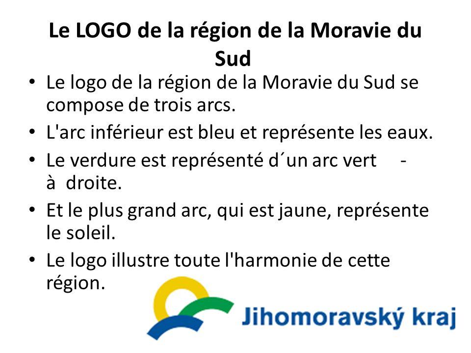 Le LOGO de la région de la Moravie du Sud