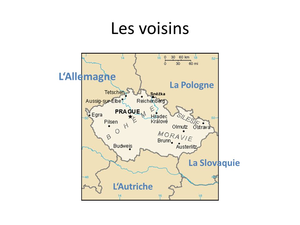 Les voisins L'Allemagne La Pologne La Slovaquie L'Autriche