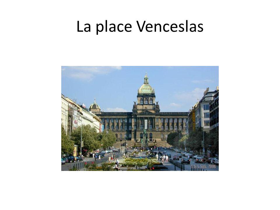La place Venceslas