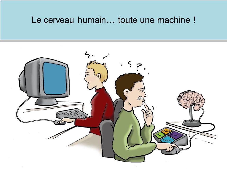 Le cerveau humain… toute une machine !