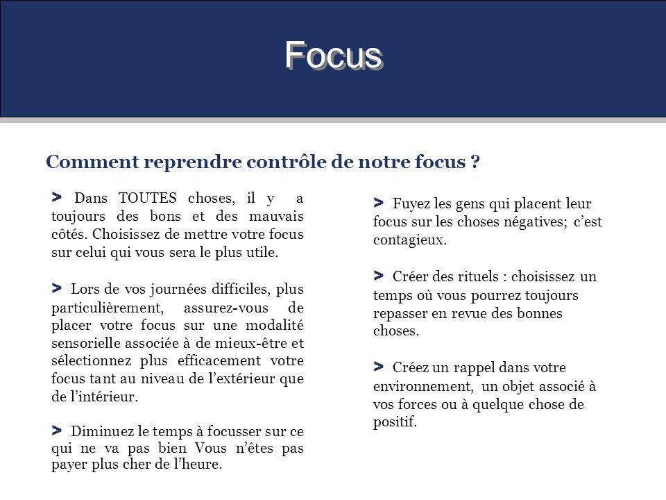 Focus Comment reprendre contrôle de notre focus