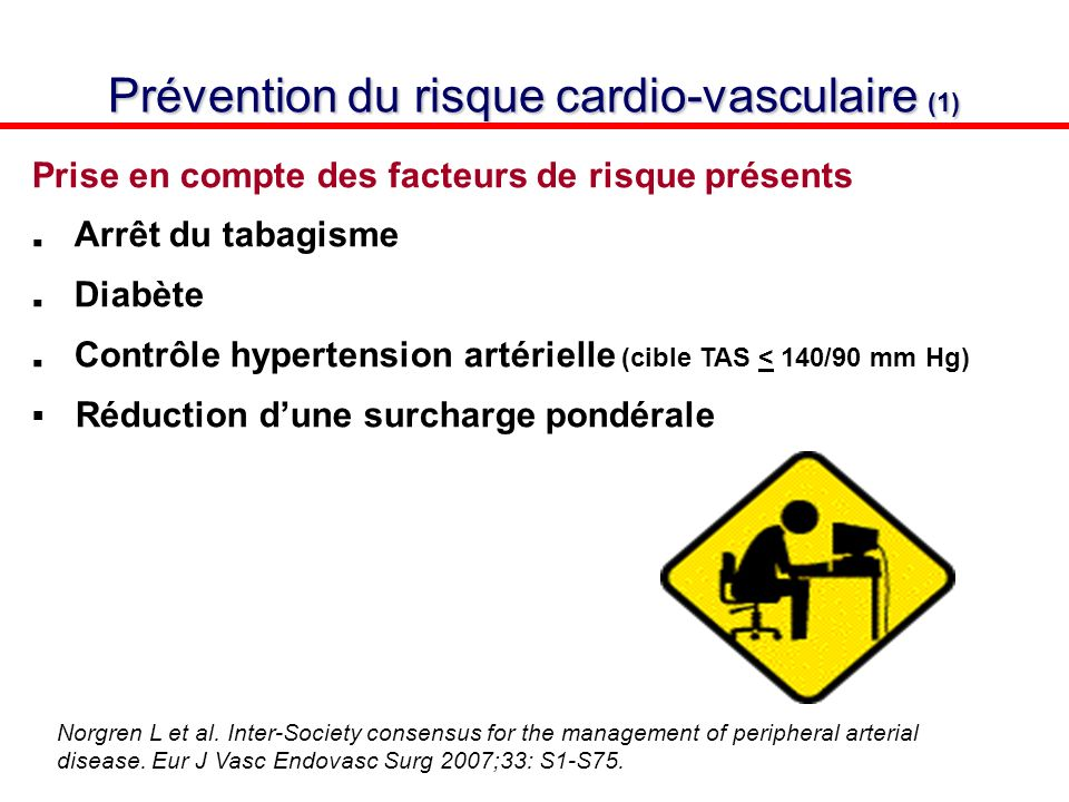 Prévention du risque cardio-vasculaire (1)