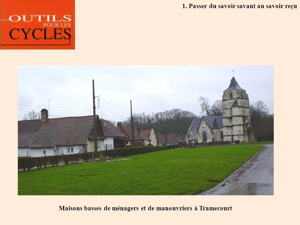 Maisons basses de ménagers et de manouvriers à Tramecourt