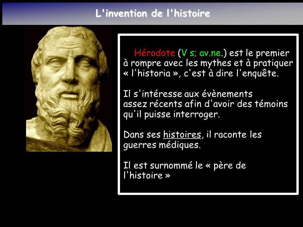 L invention de l histoire