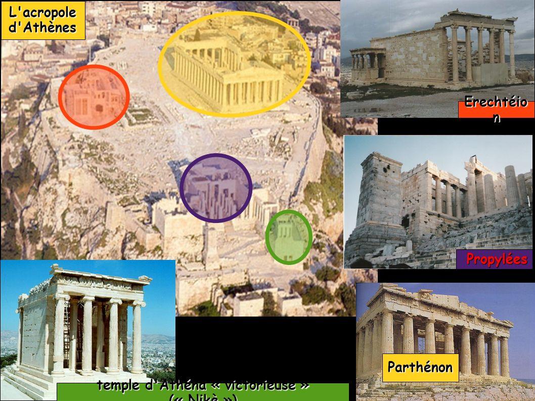 temple d Athéna « victorieuse » (« Nikè »)