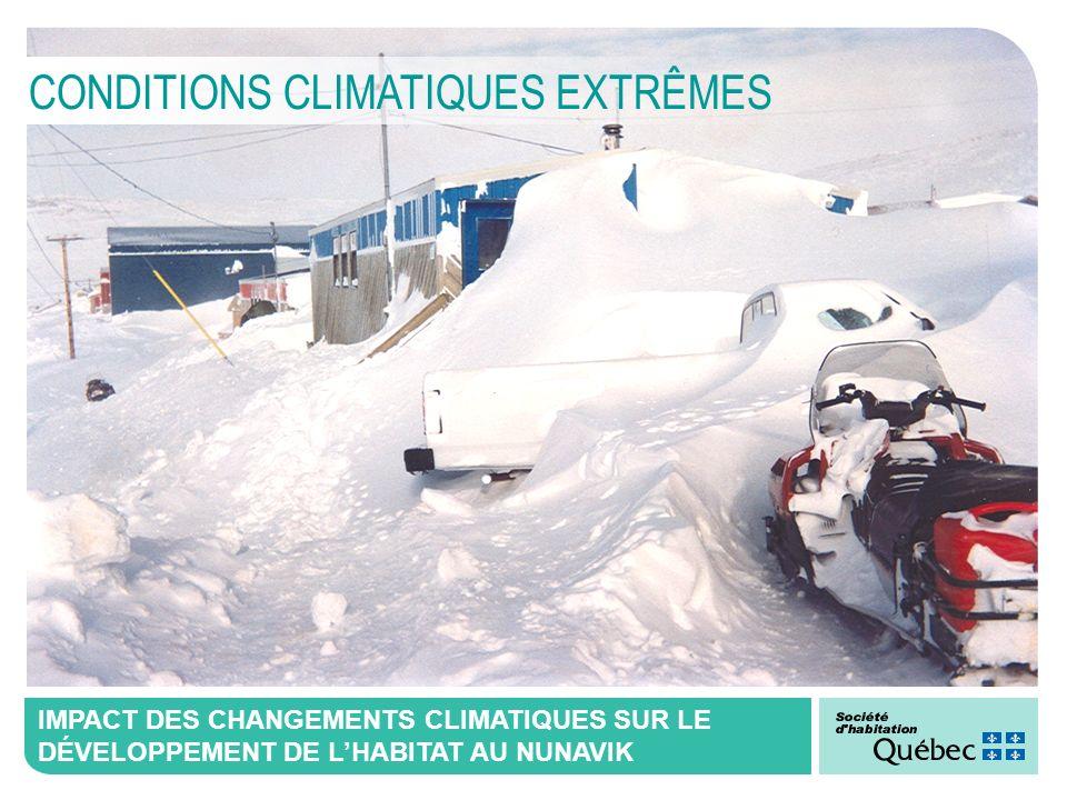CONDITIONS CLIMATIQUES EXTRÊMES