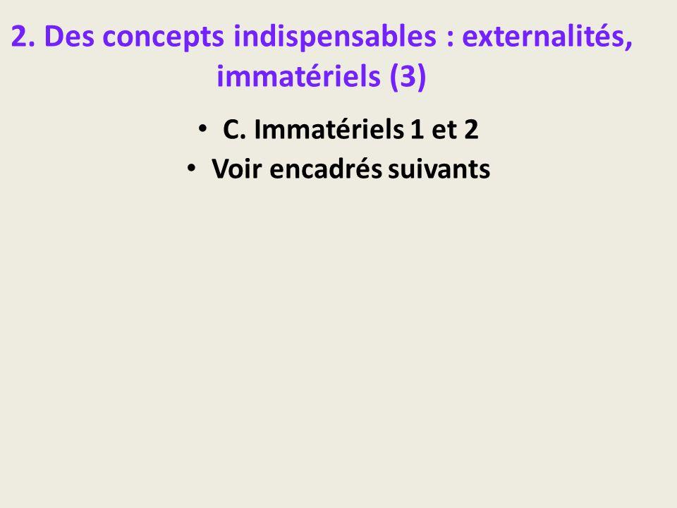 2. Des concepts indispensables : externalités, immatériels (3)